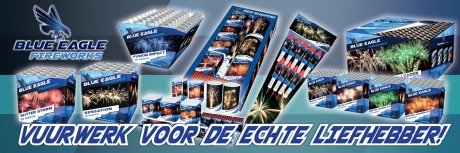 Spandoek Azaro - Blue eagle 3x1m 1/1
