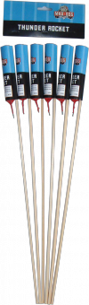 Thunder rockets 6 stuks
