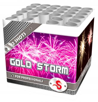 Gold storm siercake