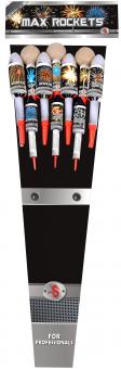 Max rockets pijlpakket 10 st