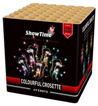 Colorful Crosette