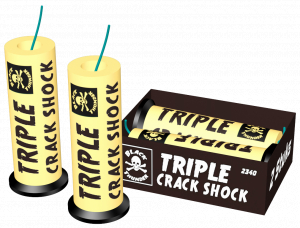 Triple crack shock