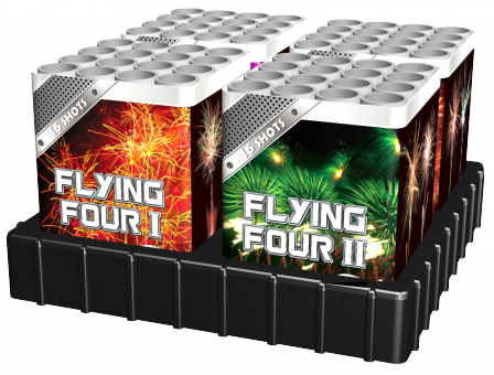 Flying four